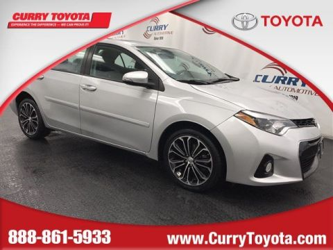 Certified Pre-Owned 2014 Toyota Corolla S Premium