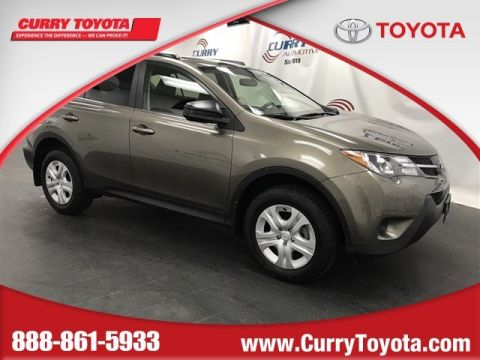 Certified Pre-Owned 2015 Toyota RAV4 LE